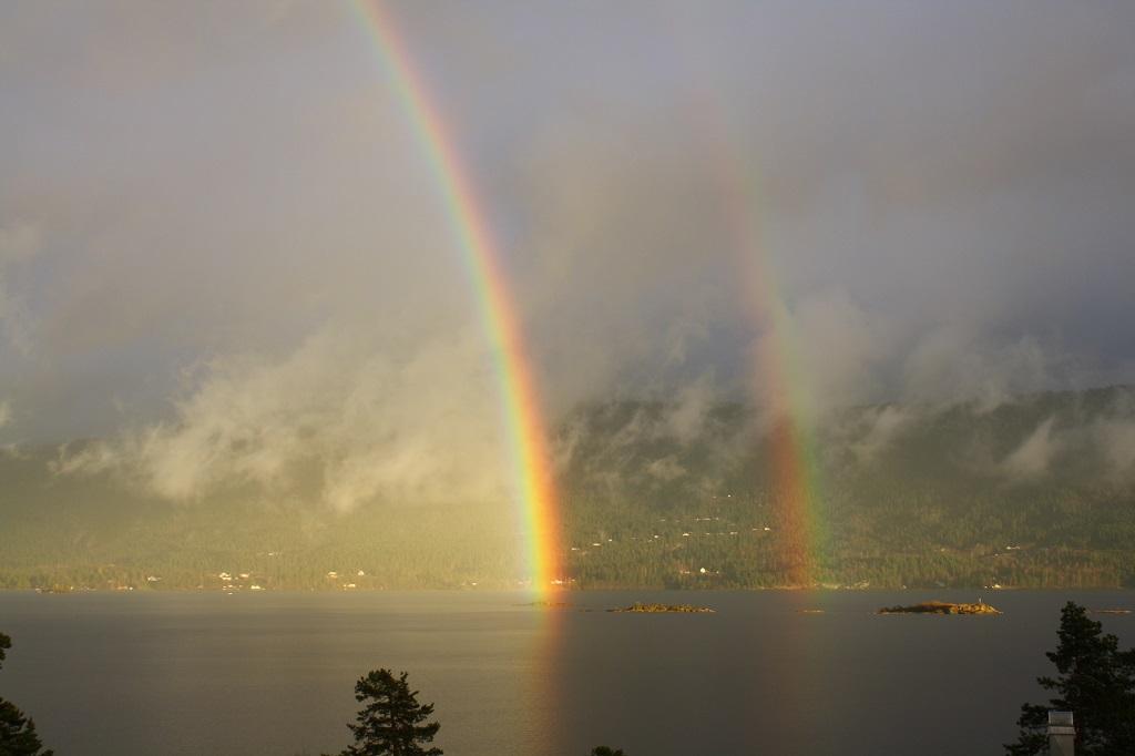 Full double rainbow