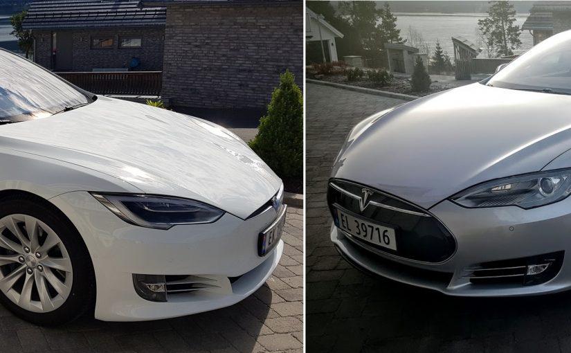 Tesla Model S Facelift eller Nosecone?