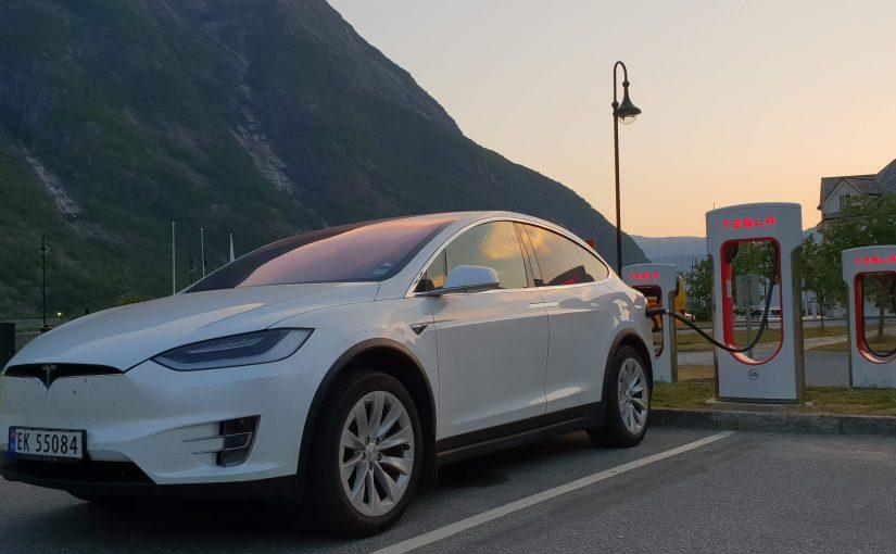 Ett år i Tesla Model X