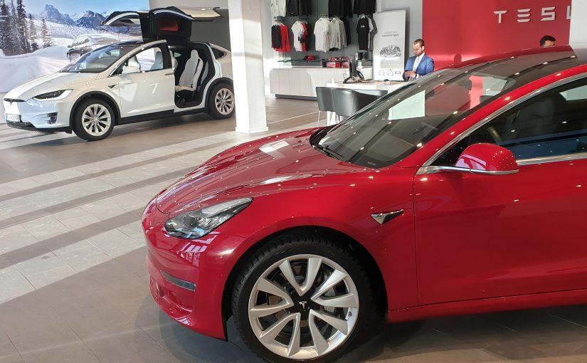 Prisendring Model 3